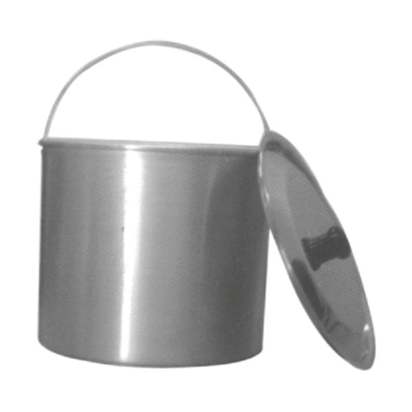Aluminium Bucket with Optional lid