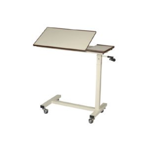 Height Adjustable Over Bed Table, Hospital OverBed and Patient Table