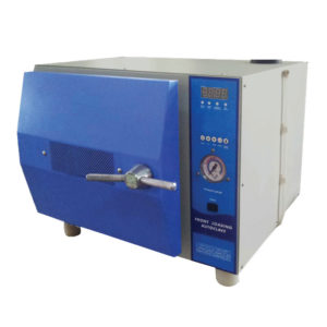 High Pressure Autoclave Table Top Front Loading
