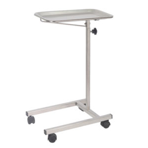 Instrument Table, Stainless Steel Mayo Table for Medical Use