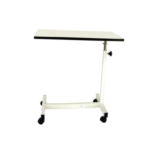 Over Bed Table, Hospital Adjustable Overbed and Patient Table