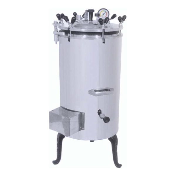 Vertical Autoclave, Wing Nut Stainless Steel Type Autoclave