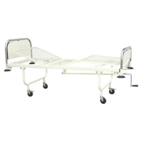 Wire Mesh Fowler Hospital Bed