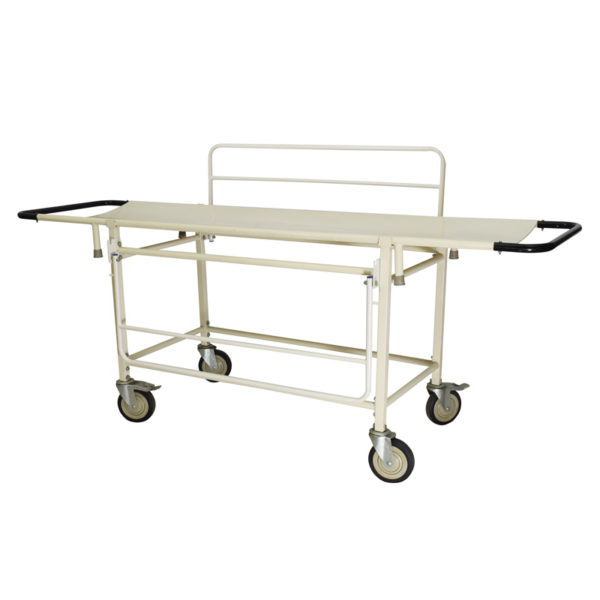 Ambulance Stretcher or Trolley with Side Railing for Patient Transport