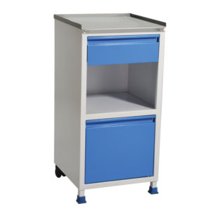 Bedside Locker, Hospital Bedside Cabinet, Stainless Steel Medical Lockers