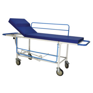 Trolley with Mattress and Patient Stretcher for Emergency Patient Transfer