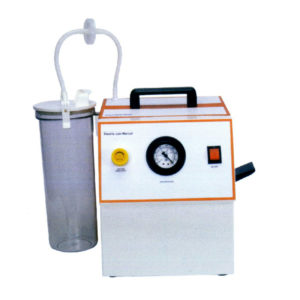 Electric Cum Foot/Manual Operated Suction Unit