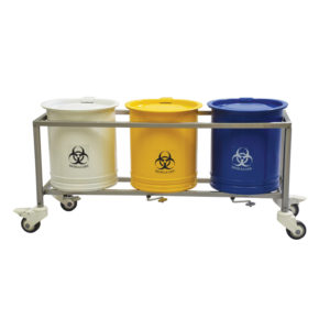 Biomedical Waste Bin Trolley (20 Ltrs.)