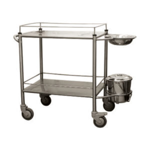 Dressing Trolley - Stainless Steel