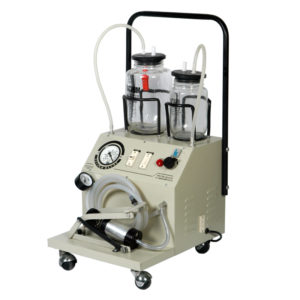 Kay Super - Electric Cum Foot/Manual Operated Suction Unit