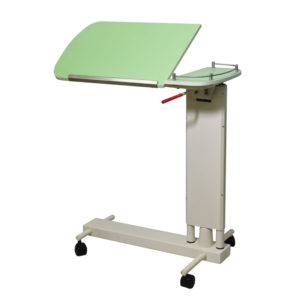 Cardiac Table, Over Bed Table, Bedside Table, Hospital Patient Food Table