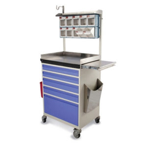Trauma Care Medicine Trolley, Medical Cart Trolley